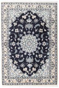 Nain Tappeto 131X194 Orientale Fatto A Mano Grigio Chiaro/Porpora Scuro (Lana, Persia/Iran)