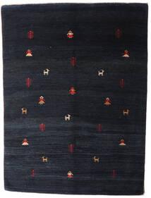 Gabbeh Rustic Tappeto 204X275 Moderno Fatto A Mano Blu Scuro (Lana, Persia/Iran)