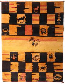 Gabbeh Rustic Tappeto 217X287 Moderno Fatto A Mano Marrone Scuro/Arancione (Lana, Persia/Iran)