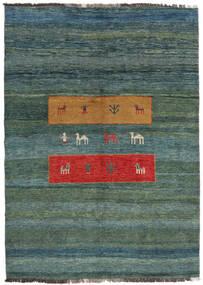Gabbeh Rustic Tappeto 214X288 Moderno Fatto A Mano Blu/Blu Turchese (Lana, Persia/Iran)