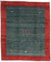 Gabbeh Rustic Tappeto 276X327 Moderno Fatto A Mano Rosso Scuro/Turchese Scuro/Verde Scuro Grandi (Lana, Persia/Iran)