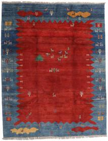 Gabbeh Rustic Tappeto 259X331 Moderno Fatto A Mano Ruggine/Rosso/Blu Scuro Grandi (Lana, Persia/Iran)