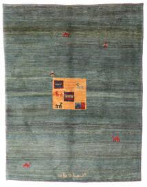 Gabbeh Rustic Tappeto 200X258 Moderno Fatto A Mano Grigio Scuro/Verde Scuro (Lana, Persia/Iran)