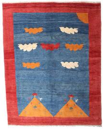 Gabbeh Rustic Tappeto 208X265 Moderno Fatto A Mano Blu/Rosso (Lana, Persia/Iran)