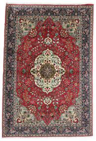 Tabriz Tappeto 100X150 Orientale Fatto A Mano Nero/Grigio Scuro (Lana, Persia/Iran)