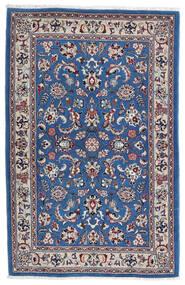 Kashmar Tappeto 105X160 Orientale Fatto A Mano Grigio Chiaro/Blu Scuro (Lana, Persia/Iran)