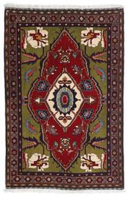 Gabbeh Kashkooli Tappeto 80X122 Moderno Fatto A Mano Rosso Scuro/Grigio Scuro (Lana, Persia/Iran)