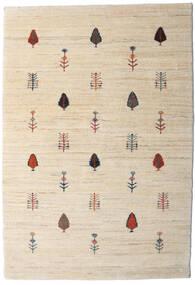 Loribaft Persia Tappeto 104X151 Moderno Fatto A Mano Beige/Grigio Chiaro (Lana, Persia/Iran)