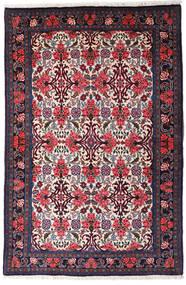 Bidjar Tappeto 105X159 Orientale Fatto A Mano Blu Scuro/Porpora Scuro (Lana, Persia/Iran)