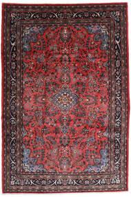Hamadan Shahrbaf Tappeto 217X315 Orientale Fatto A Mano Rosso Scuro/Marrone Scuro (Lana, Persia/Iran)