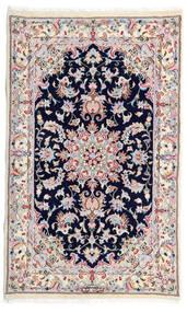 Kashmar Tappeto 77X130 Orientale Fatto A Mano Bianco/Creme/Grigio Chiaro (Lana, Persia/Iran)