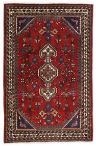 Ghashghai Tappeto 80X125 Orientale Fatto A Mano Rosso Scuro/Nero/Ruggine/Rosso (Lana, Persia/Iran)