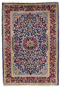Kirman Tappeto 60X90 Orientale Fatto A Mano Porpora Scuro/Rosso Scuro (Lana, Persia/Iran)