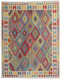 Kilim Afghan Old Style Tappeto 152X198 Orientale Tessuto A Mano Marrone Chiaro/Grigio Chiaro (Lana, Afghanistan)