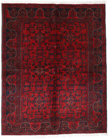 Afghan Khal Mohammadi Tappeto 148X185 Orientale Fatto A Mano Rosso Scuro/Rosso (Lana, Afghanistan)