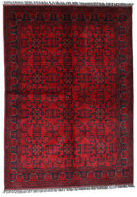 Afghan Khal Mohammadi Tappeto 170X240 Orientale Fatto A Mano Rosso Scuro/Rosso (Lana, Afghanistan)