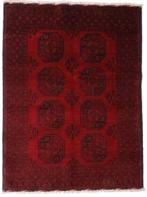Afghan Tappeto 147X195 Orientale Fatto A Mano Rosso Scuro/Marrone Scuro (Lana, Afghanistan)