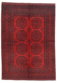 Afghan Tappeto 172X236 Orientale Fatto A Mano Rosso Scuro/Marrone Scuro/Rosso (Lana, Afghanistan)