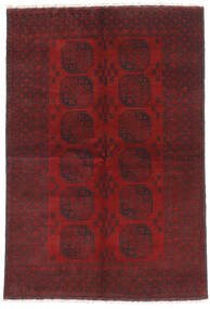 Afghan Tappeto 160X232 Orientale Fatto A Mano Rosso Scuro/Marrone Scuro (Lana, Afghanistan)