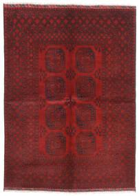 Afghan Tappeto 172X240 Orientale Fatto A Mano Rosso Scuro/Marrone Scuro (Lana, Afghanistan)