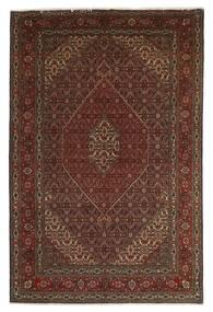 Tabriz 40 Raj Tappeto 201X312 Orientale Fatto A Mano Rosso Scuro/Marrone Scuro/Marrone (Lana/Seta, Persia/Iran)
