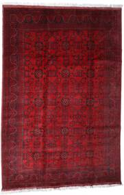 Afghan Khal Mohammadi Tappeto 203X301 Orientale Fatto A Mano Rosso Scuro/Rosso (Lana, Afghanistan)
