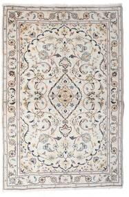 Keshan Tappeto 97X150 Orientale Fatto A Mano Grigio Chiaro/Beige (Lana, Persia/Iran)