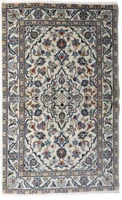 Keshan Tappeto 95X154 Orientale Fatto A Mano Grigio Chiaro/Grigio Scuro (Lana, Persia/Iran)