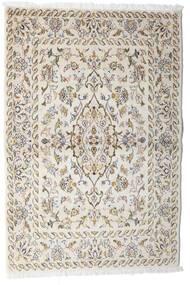 Keshan Tappeto 100X148 Orientale Fatto A Mano Grigio Chiaro/Beige (Lana, Persia/Iran)