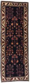 Gabbeh Kashkooli Tappeto 82X223 Moderno Fatto A Mano Alfombra Pasillo Marrone Scuro/Rosso Scuro (Lana, Persia/Iran)