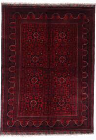 Kunduz Tappeto 147X198 Orientale Fatto A Mano Rosso Scuro (Lana, Afghanistan)