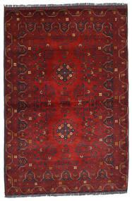 Kunduz Tappeto 100X150 Orientale Fatto A Mano Rosso Scuro (Lana, Afghanistan)