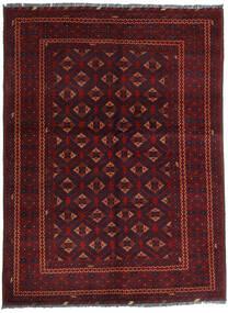 Kunduz Tappeto 145X195 Orientale Fatto A Mano Rosso Scuro (Lana, Afghanistan)