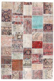 Patchwork - Persien/Iran Tappeto 200X299 Moderno Fatto A Mano Grigio Chiaro/Grigio Scuro (Lana, Persia/Iran)