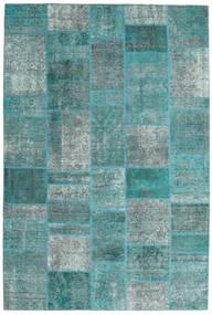 Patchwork - Persien/Iran Tappeto 203X301 Moderno Fatto A Mano Blu Turchese/Blu Turchese (Lana, Persia/Iran)