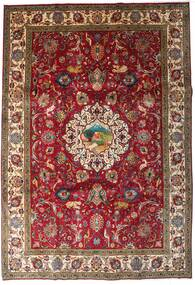 Tabriz Tappeto 246X355 Orientale Fatto A Mano Rosso Scuro/Marrone Scuro (Lana, Persia/Iran)