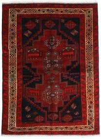 Lori Tappeto 156X211 Orientale Fatto A Mano Marrone Scuro/Rosso Scuro (Lana, Persia/Iran)