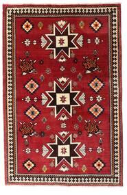 Ghashghai Tappeto 127X197 Orientale Fatto A Mano Rosso Scuro (Lana, Persia/Iran)