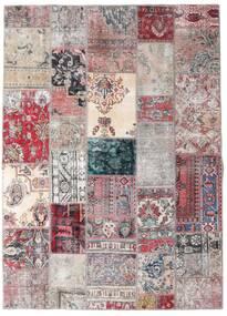 Patchwork - Persien/Iran Tappeto 173X242 Moderno Fatto A Mano Grigio Chiaro/Violet Clair (Lana, Persia/Iran)