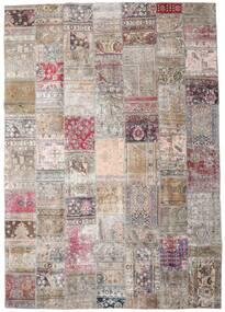 Patchwork - Persien/Iran Tappeto 248X352 Moderno Fatto A Mano Grigio Chiaro/Rosa (Lana, Persia/Iran)