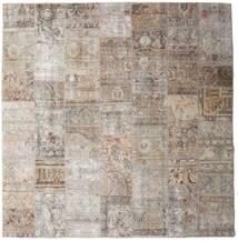 Patchwork - Persien/Iran Tappeto 252X256 Moderno Fatto A Mano Quadrato Grigio Chiaro Grandi (Lana, Persia/Iran)