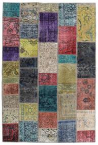 Patchwork - Persien/Iran Tappeto 135X201 Moderno Fatto A Mano Grigio Scuro/Grigio Chiaro (Lana, Persia/Iran)