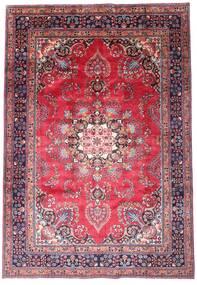 Mashad Tappeto 203X290 Orientale Fatto A Mano Porpora Scuro/Rosa (Lana, Persia/Iran)