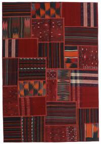 Tekkeh Kilim Tappeto 138X201 Moderno Tessuto A Mano Rosso Scuro (Lana, Persia/Iran)