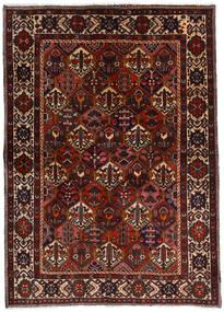 Bakhtiar Tappeto 153X212 Orientale Fatto A Mano Marrone Scuro/Rosso Scuro (Lana, Persia/Iran)