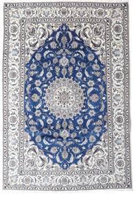 Nain Tappeto 201X293 Orientale Fatto A Mano Grigio Scuro/Beige (Lana, Persia/Iran)