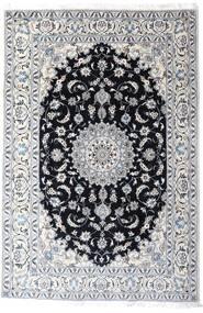 Nain Tappeto 200X297 Orientale Fatto A Mano Bianco/Creme/Grigio Chiaro (Lana, Persia/Iran)