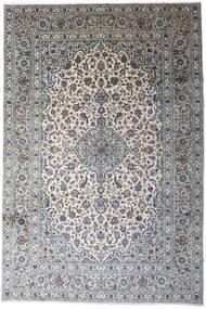 Keshan Tappeto 246X366 Orientale Fatto A Mano Grigio Chiaro/Grigio Scuro (Lana, Persia/Iran)