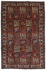 Bakhtiar Tappeto 204X312 Orientale Fatto A Mano Rosso Scuro/Nero (Lana, Persia/Iran)