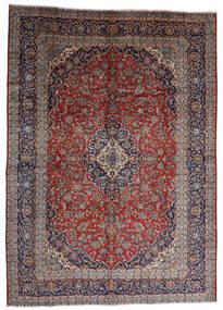 Keshan Tappeto 287X403 Orientale Fatto A Mano Rosso Scuro/Marrone Scuro Grandi (Lana, Persia/Iran)